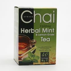 Fudco Čaj máta a citronová tráva 80 g, 40 ks