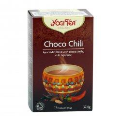 Yogi Tea Čaj Choco Chili 17 ks, 37,4 g