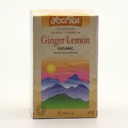 Yogi Tea Čaj Ginger Lemon 17 ks, 30 g