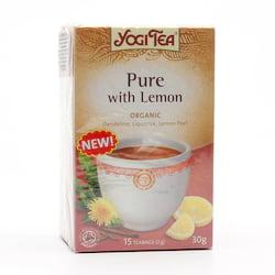 Yogi Tea Čaj Pure with Lemon 17 ks, 30 g