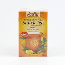 Golden Temple Čaj Yogitea Sweet Lemon Mate, Snack tea 17 ks, 30,6 g