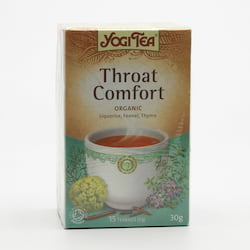 Yogi Tea Čaj Throat Comfort 17 ks, 30 g