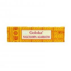 Goloka Vonné tyčinky indické, Nag Champa Agarbathi 40 g