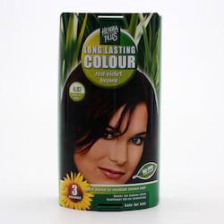 Henna Plus Dlouhotrvající barva Červeně fialová hnědá 4.67 100 ml