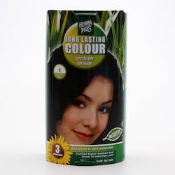 Henna Plus Dlouhotrvající barva Sytě hnědá 4 100 ml