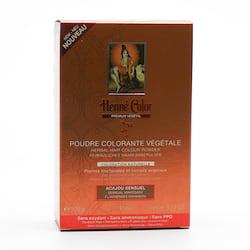 Henné Color Henna Mahagon, Premium Végétal 100 g