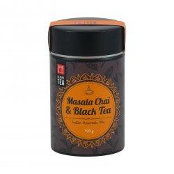 Klasek Tea Černý čaj Masala, kovová dóza 100 g
