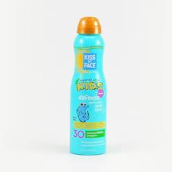 Kiss My Face Corp. Opalovací mléko SPF 30 ve spreji pro děti 177 ml