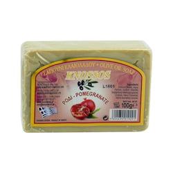 Knossos Mýdlo tuhé olivové, granátové jablko 100 g