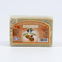 Knossos Mýdlo tuhé olivové, med 100 g