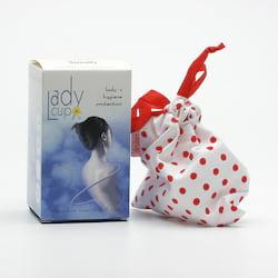 LadyCup Menstruační kalíšek S (menší), čirý 1 ks