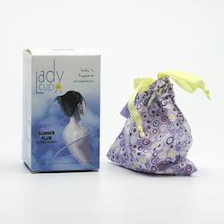 LadyCup Menstruační kalíšek S (menší), švestka 1 ks