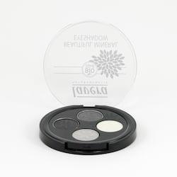 Lavera Oční stíny QUATRO 01 kouřová šedá, Trend Sensitiv 3,2 g