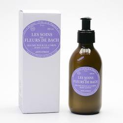 Les Fleurs de Bach Tělové mléko s Bachovými květy, anti-stress 200 ml