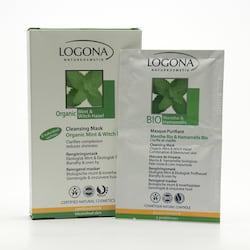 Logona Čisticí maska bio máta, Clear Skin - vyřazen 2 x 7,5 ml