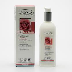 Logona Čisticí mléko Bio růže a aloe 125 ml