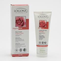 Logona Vyhlazující denní krém, Bio růže 30 ml