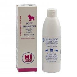 Mi Fido Jemný Bio šampon pro psy dlouhosrsté 250 ml
