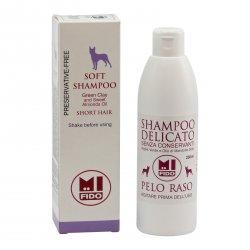 Mi Fido Jemný Bio šampon pro psy krátkosrsté 250 ml