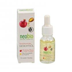 Neobio Pleťový olej 15 ml