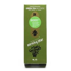 Nippon Kodo Vonné tyčinky japonské Morning Star Green Tea 200 ks