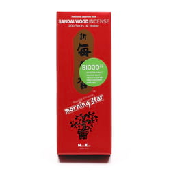 Nippon Kodo Vonné tyčinky japonské Morning Star Sandalwood 200 ks