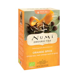 Numi Organic Tea Bílý čaj Orange Spice 44,8 g, 16 ks