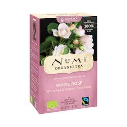 Numi Organic Tea Bílý čaj White Rose 32 g, 16 ks