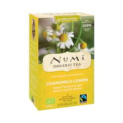 Numi Organic Tea Bylinný čaj Chamomile Lemon 30,6 g, 18 ks
