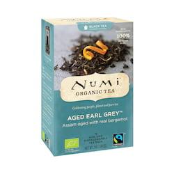 Numi Organic Tea Černý čaj Aged Earl Grey 36 g, 18 ks