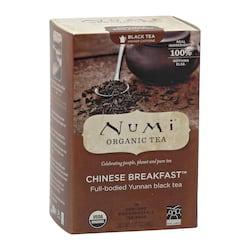 Numi Organic Tea Černý čaj Chinese Breakfast 36 g, 18 ks
