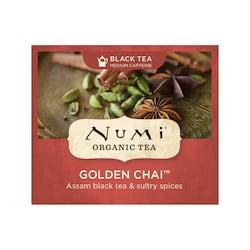 Numi Organic Tea Černý čaj Golden Chai 2,6 g, 1 ks