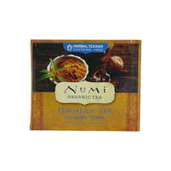 Numi Kořeněný čaj Golden Tonic, Turmeric Tea 3,1 g, 1 ks
