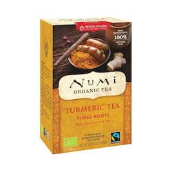Numi Organic Tea Kořeněný čaj Three Roots, Turmeric Tea 40,2 g, 12 ks