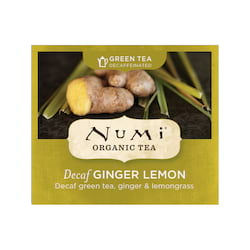 Numi Zelený čaj Decaf Ginger Lemon 1 ks, 2 g
