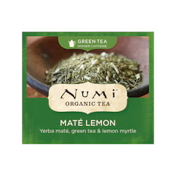 Numi Organic Tea Zelený čaj Mate Lemon Green 2,3 g, 1 ks