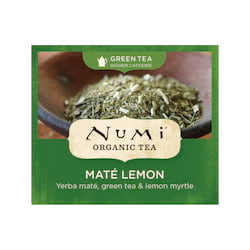 Numi Zelený čaj Mate Lemon Green 100 ks, 230 g