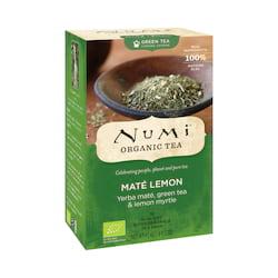 Numi Organic Tea Zelený čaj Mate Lemon Green 41,4 g, 18 ks