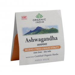 Organic India Ašvaganda, kapsle 4 ks