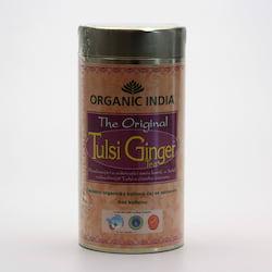 Organic India Čaj Tulsi Ginger, sypaný 100 g