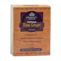 Organic India Čaj Tulsi Ginger, sypaný 50 g