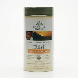 Organic India Čaj Tulsi Honey Chamomile, sypaný, bio 100 g