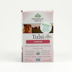 Organic India Čaj Tulsi Jasmine, porcovaný 30,6 g, 25 ks
