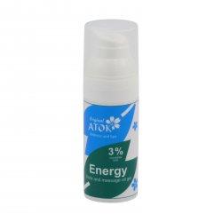 Original ATOK Tělový a masážní oleogel Energy – s 3 % vosku candelilla 50 ml
