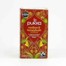 Pukka Čaj ayurvédský Rooibos, Honeybush 20 ks, 30 g
