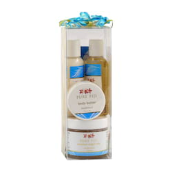 Pure Fiji Dárková sada kokosových produktů, kokos 4 ks