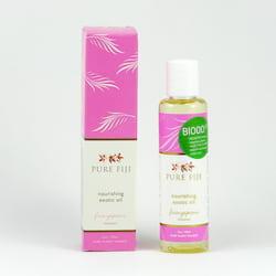 Pure Fiji Exotický masážní a koupelový olej, plumérie 90 ml