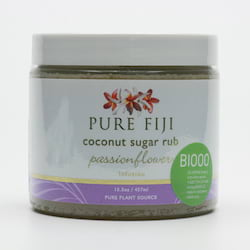 Pure Fiji Kokosový peeling s třtinovým cukrem, mučenka 457 ml