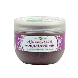 Purity Vision Ajurvédská koupelová sůl (černá himalájská Kala Namak) 500 g
