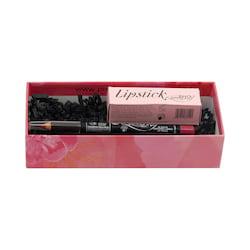 puroBIO cosmetics Dárková sada na rty Strawberry 3,5 g + 1,3 g